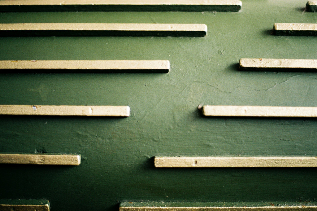 Green Wooden Panels