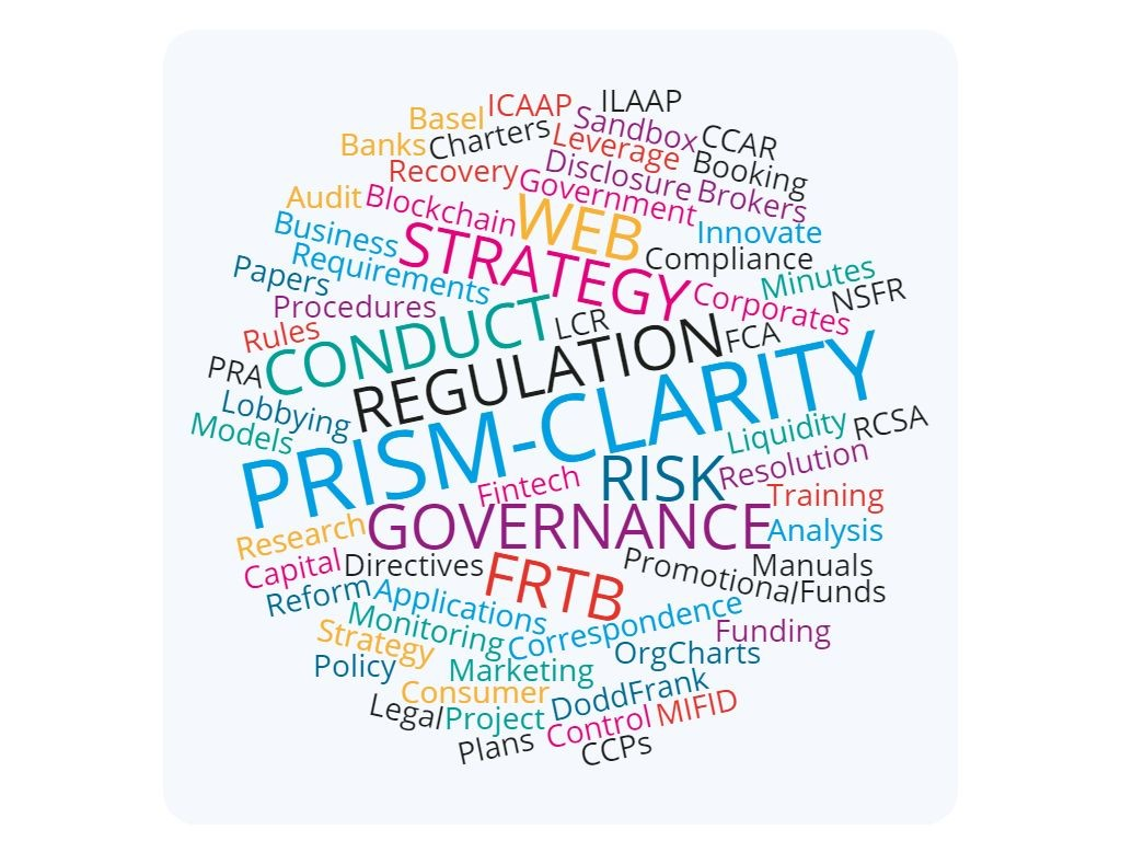 Prism Clarity Wordcloud